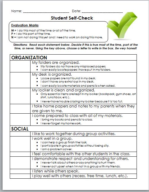 Teacher evaluation essay