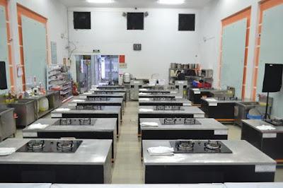 Phòng học thực hành nấu ăn tại hà nội