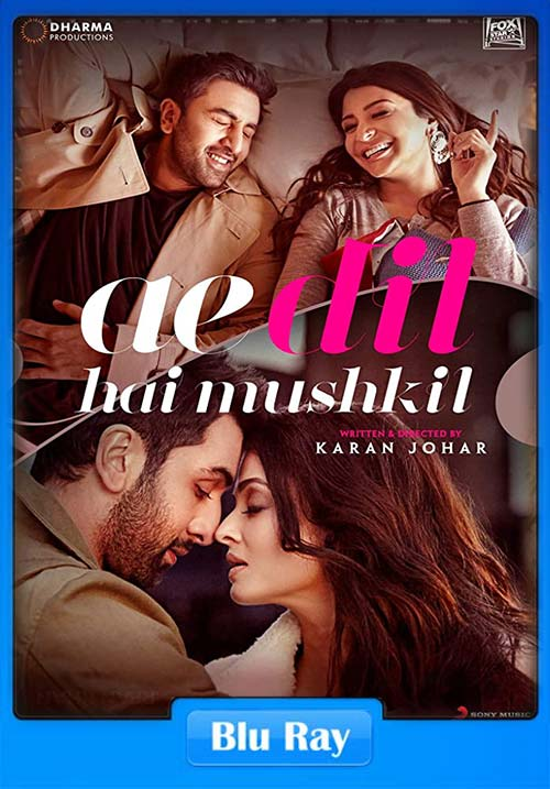 Ae Dil Hai Mushkil 2016 Hindi 720p BluRay x264 | 480p 300MB | 100MB HEVC