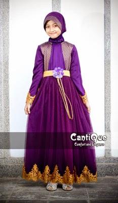 Model Gamis Umur 12 Tahun