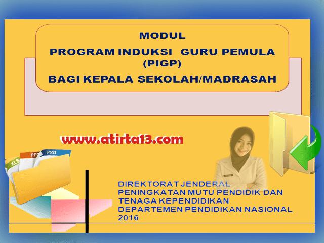 Contoh Modul Program Induksi Guru Pemula Bagi Kepala Sekolah/Madrasah Format Words Siap Cetak