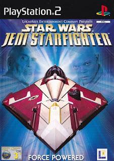 Star Wars Jedi Starfighter PAL PS2