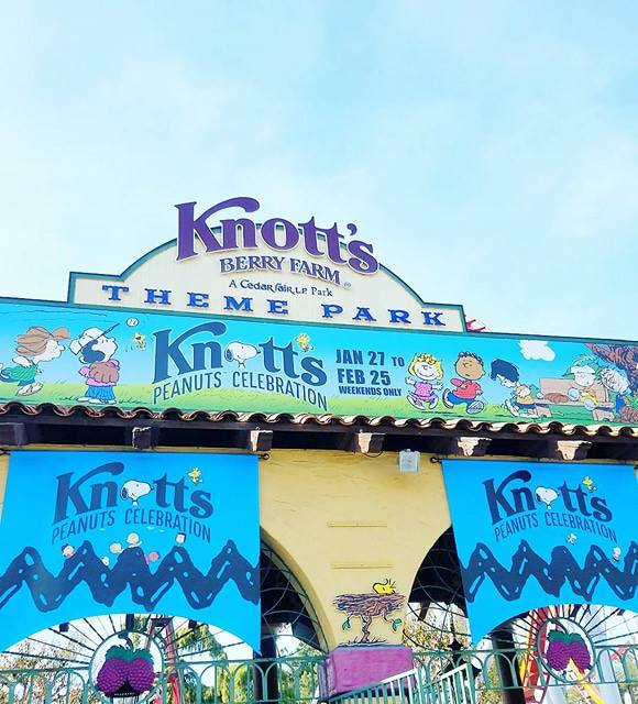 dcf053236e ON THE GO OC - Things to do with your family.  Our Knott s Peanuts ...