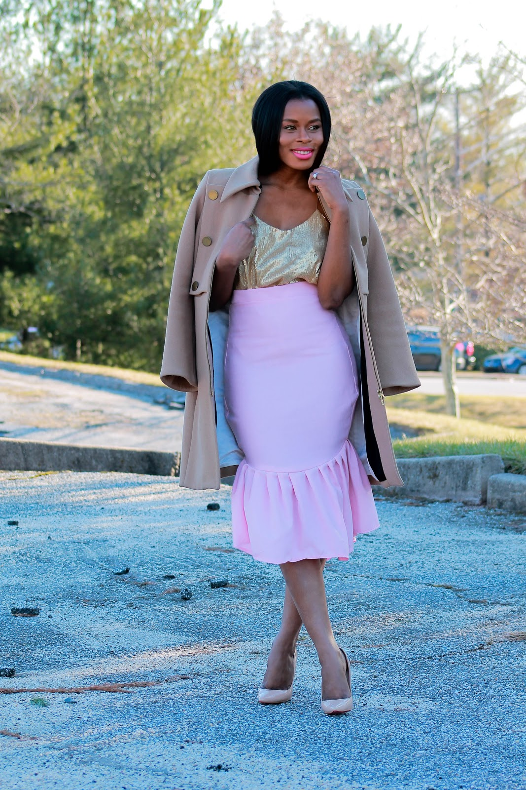 Peplum Skirt: How Do Fashion Bloggers Afford All of these Expensive Items?