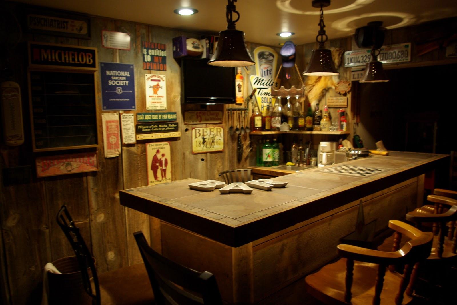Reclaimed Rustics Barn Wood Bar