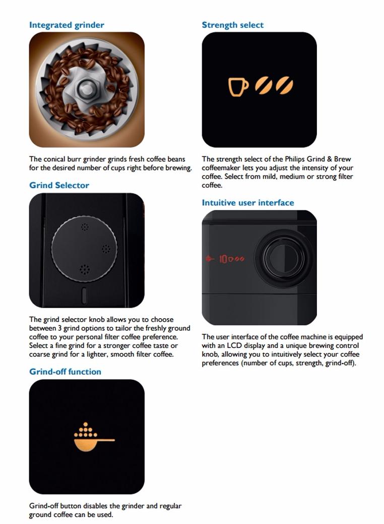 espresso machine that grinds and brew