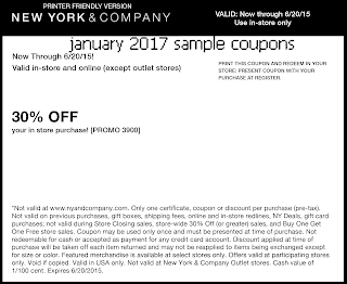 New York And Company Coupons