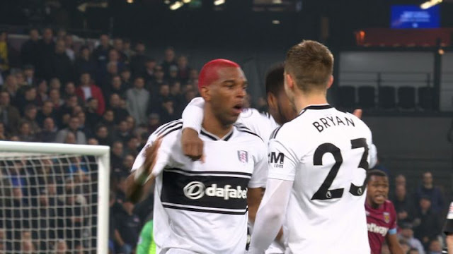Fulham Ryan Babel Scores West Ham United