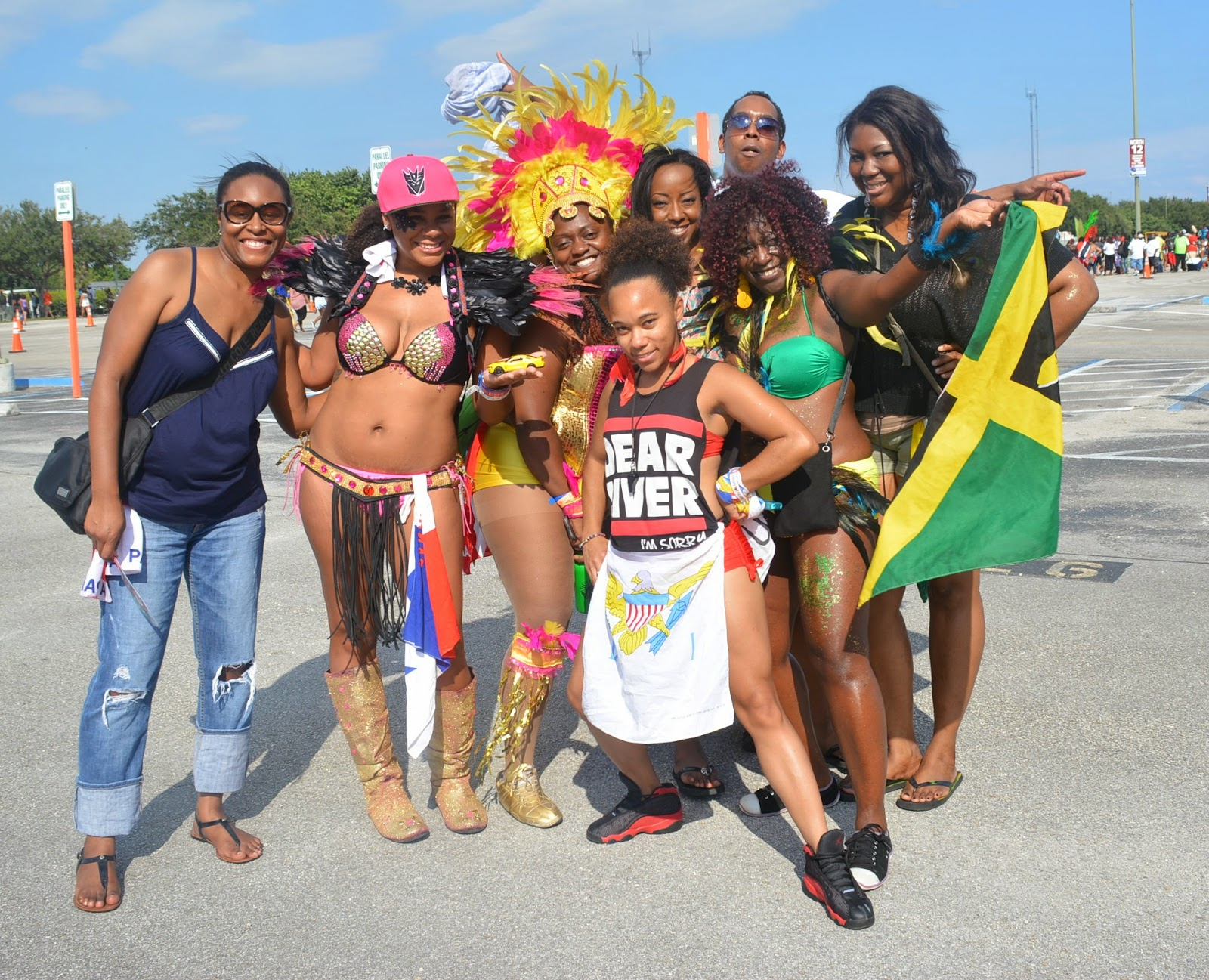 Although Miami Carnival Road March Is My Absolute Least Favorite Of All Marches The Weekend At Top List Caribbean Ps From