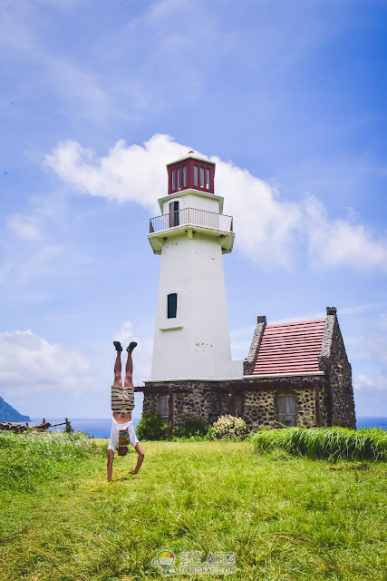 TAYID LIGHT HOUSE IN MAHATAO WITH COW FARM BESIDE