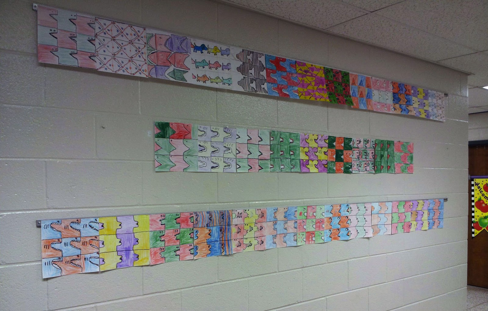 Tessellation Monsters 4th