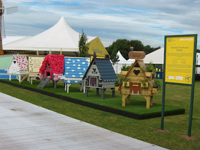 Celebrity Designed Hen Houses at Hampton Court Show 2013