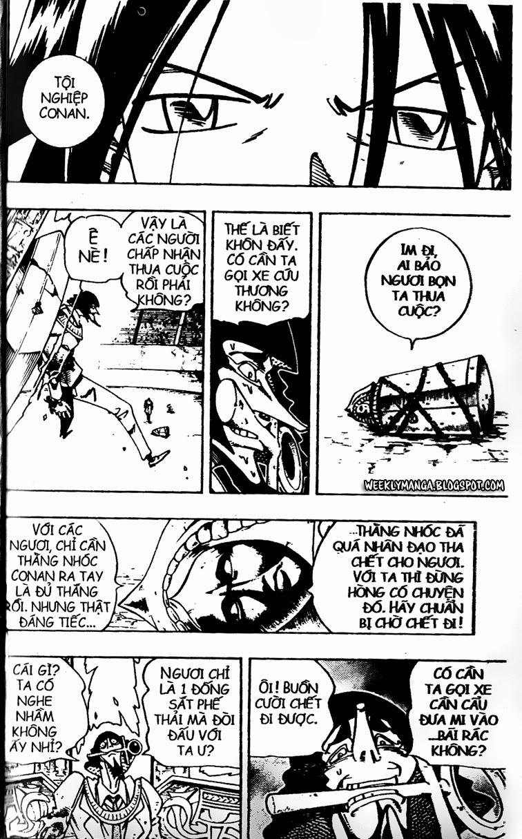 Shaman King [Vua pháp thuật] chap 123 trang 16