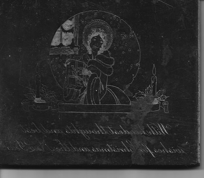 1900s engravers plate John Sellers and Sons scanned