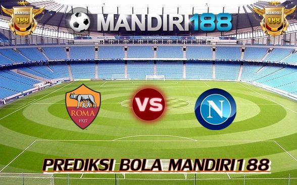 AGEN BOLA - Prediksi AS Roma vs Napoli 15 Oktober 2017