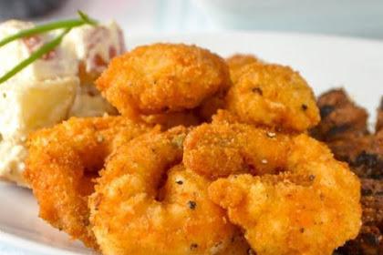 Parmesan Shrimp Or Scallops