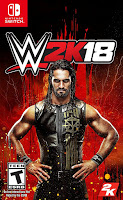 WWE 2K18 Game Cover Nintendo Switch