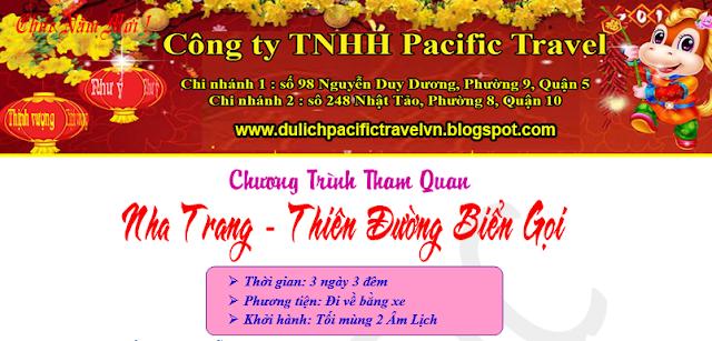 Du lịch Nha Trang Tết Âm Lịch 2017 khởi hành trong 3 ngày 3 đêm