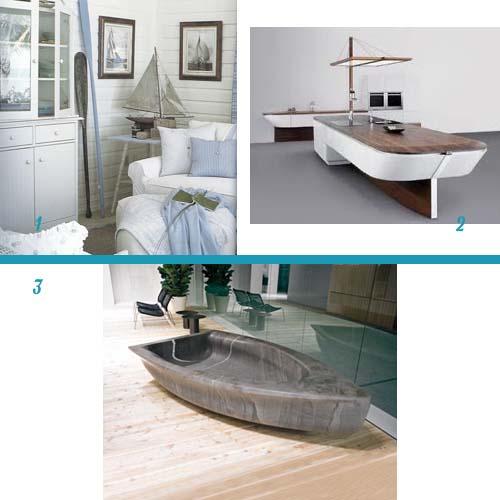 Arredare cullati dalle onde del mare arredamento facile for Arredo bagno marinaro