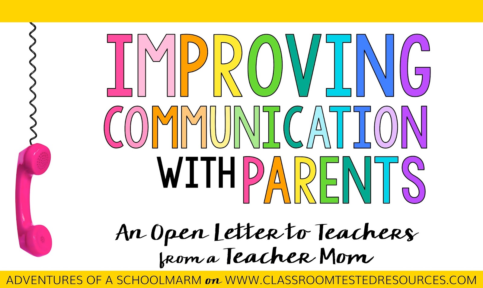 parent teacher communication Students need parent teacher communication we need to work together to help kids there are three essential times for parent teacher communication.