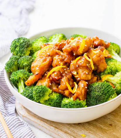 Easy Whole30 Chinese Orange Chicken #whole30 #lunch