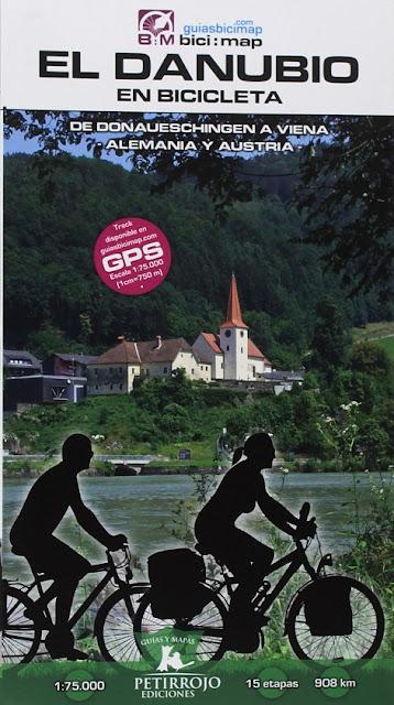 Regalos originales para ciclistas: Guía El Danubio en bicicleta: de Donauechingen a Viena