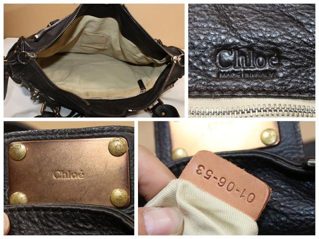CHLOE ORIGINAL - Tas Second Seken Original 081170 1414 9 cefa8ebed8