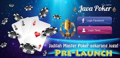 pulsa gratis dari game android Java Poker Texas