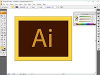 Step 1 Belajar Adobe Illustrator : Mengenal Area Kerja