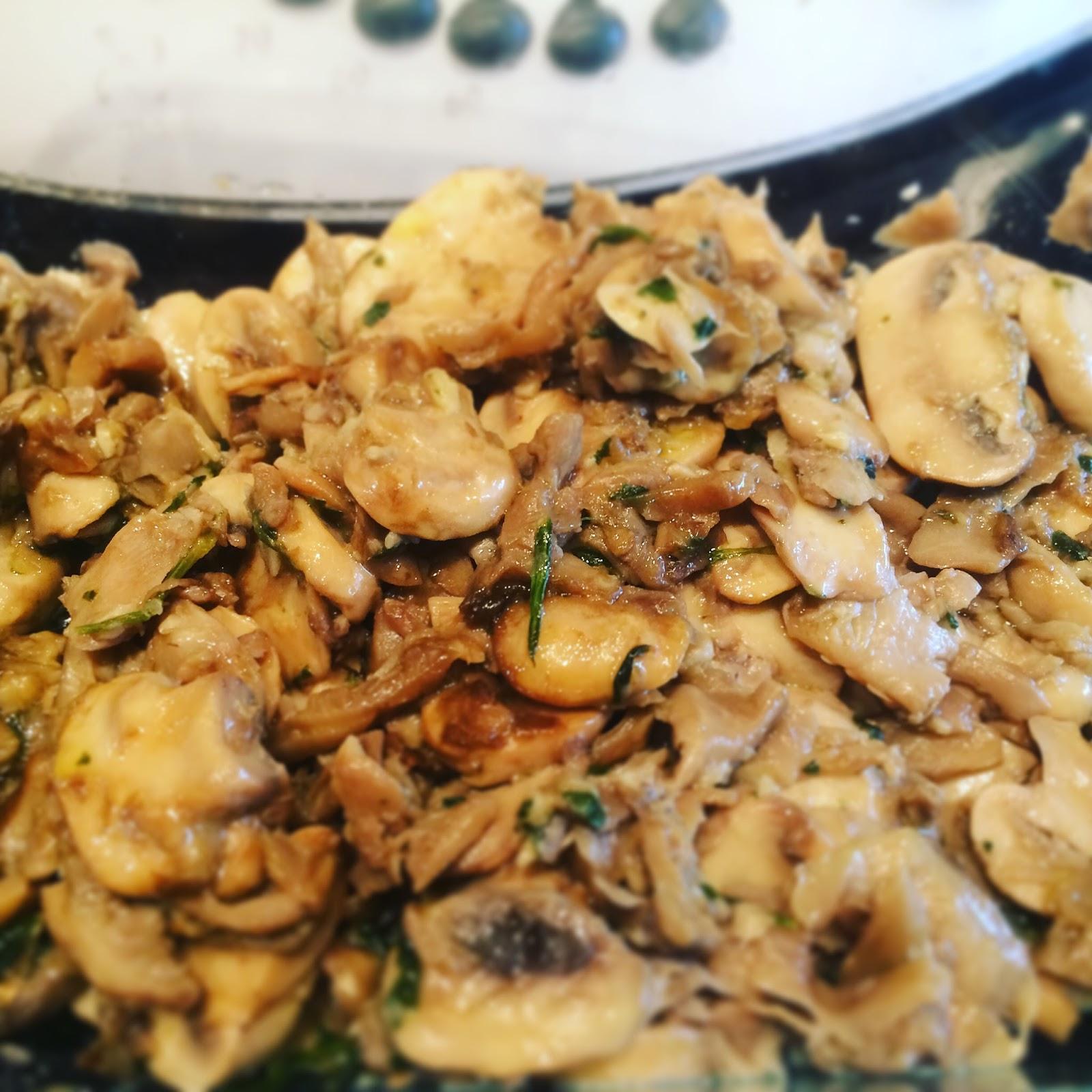 Come en mi cocina champi ones y setas al ajillo - Setas cultivadas al ajillo ...