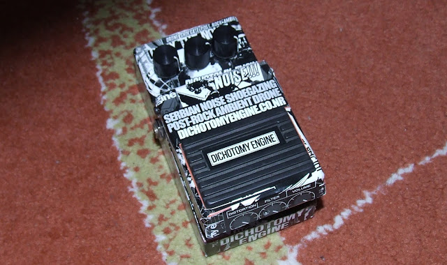 Guitar pedal distortion sticker bomb