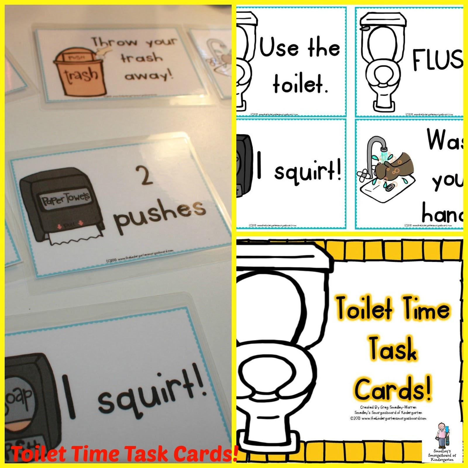 The kindergarten smorgasboard july 2013 - Bathroom procedures for preschool ...