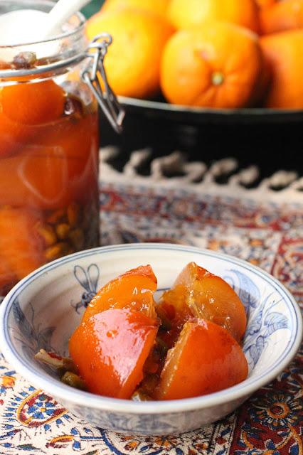 oranges ameres recette iran