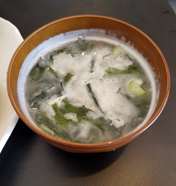 Chayo, Clayton, miso soup