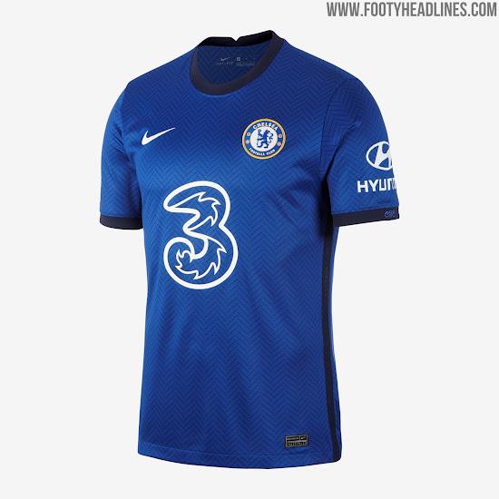 Chelsea 20-21 Home Kit Revealed - Footy Headlines
