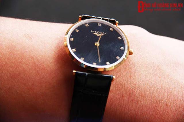 Đồng hồ nam dây da giá dưới 1 triệu L156 sang trọng