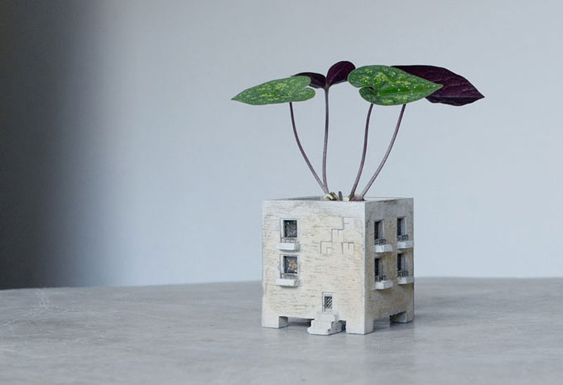 Mansion Planter by PULL + PUSH PRODUCTS