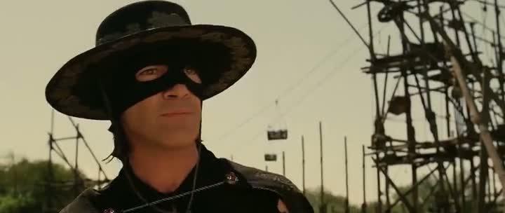 Screen Shot Of The Legend of Zorro (2005) Dual Audio Movie 300MB small Size PC Movie