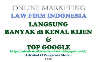 Online Marketing Terbaik Untuk Law Firm Indonesia