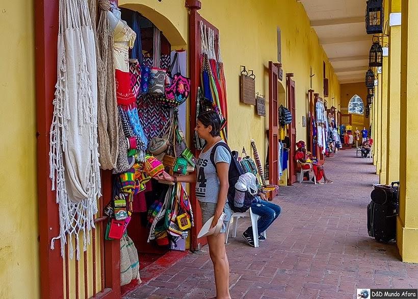 Mercado Las Bóvedas - Diário de bordo: 4 dias em Cartagena, Colômbia