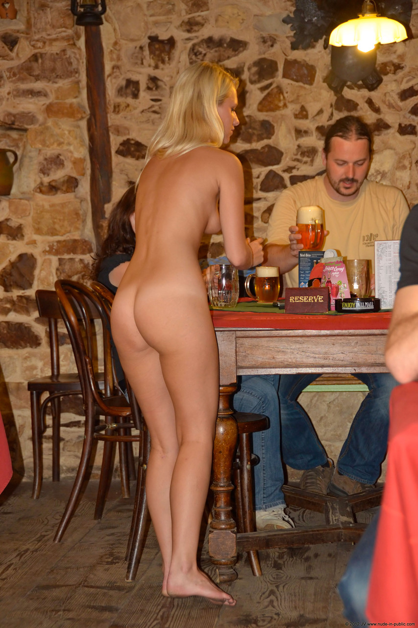 Nude waitresses