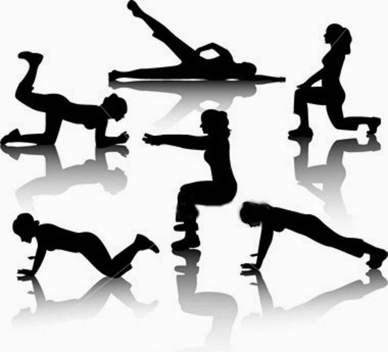Physical activity through exercises