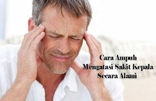 cara, ampuh, sakit kepala, alami