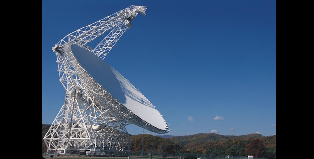 Green Bank Telescope. Credit: greenbankobservatory.org