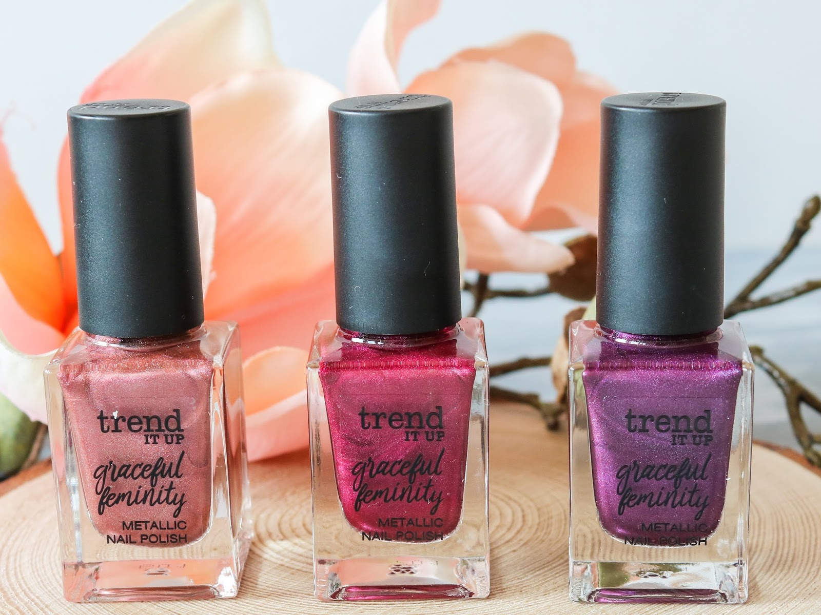 Review Trend It Up Le Graceful Feminity Metallic Nail Polish