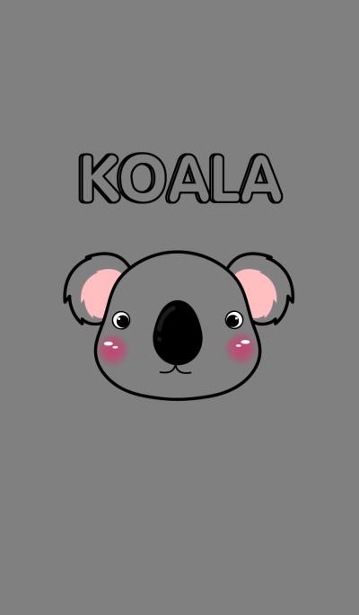 Cute Face Koala theme