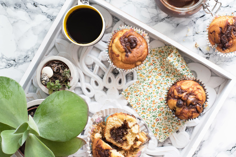 recette Muffins nutella maison