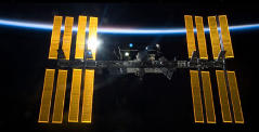 O Διεθνής Διαστημικός Σταθμό ISS.
