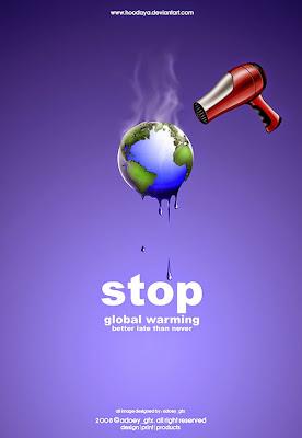 calentamiento global, imagenes para hacer conciencia, publicidad social, Diseño gráfico, retoque digital, diseño digital, Creatividad,