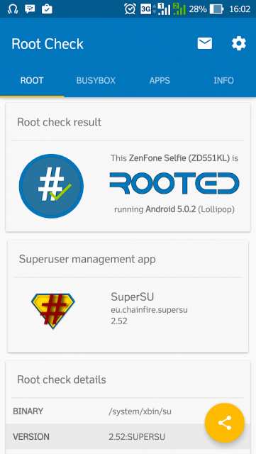 How To Root Asus ZenFone Selfie ZD551KL